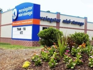 moRNINGSTAR storage Readerboard - Fort Mill SC