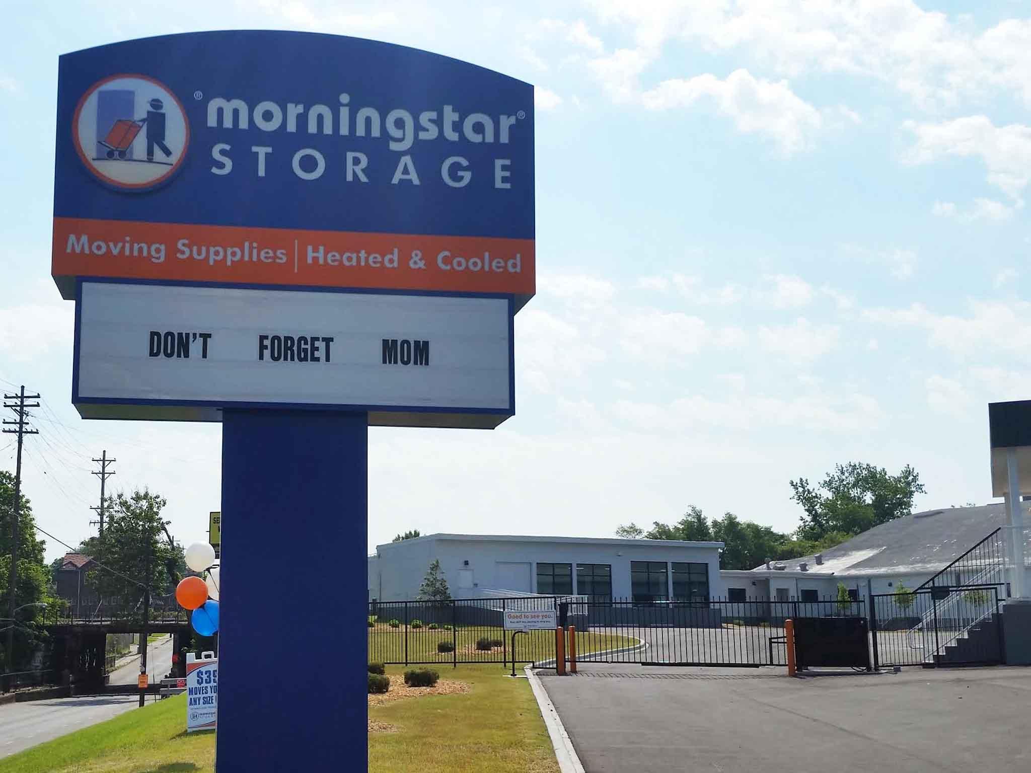 Readerboard Morningstar Storage