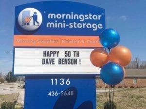 Morningstar Storage Readerboard