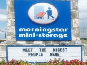 Morningstar Storage Readerboard